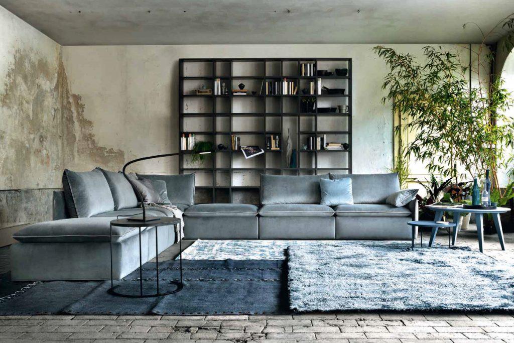 Pouf Microfibra Salotti Divani Brescia Anselmini Interior Casa Design