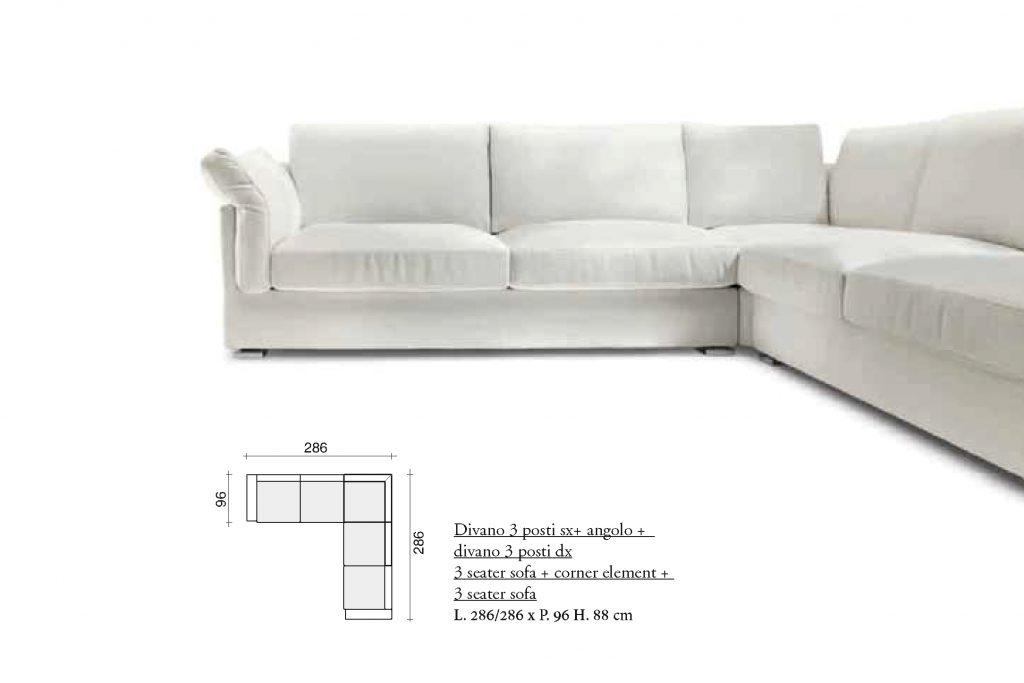 Salotti Divani Moderni Componibili Su Misura Brescia Casa Design