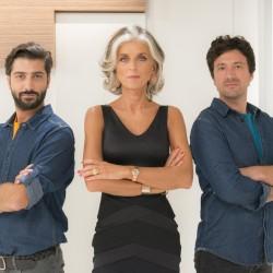 Andrea Anselmini destra foto Paola Marella al centro