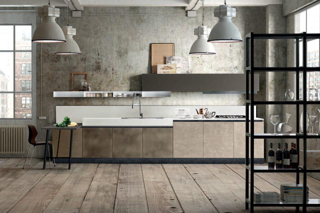 cucina industrial piano corian by 4A di Anselmini Design ...