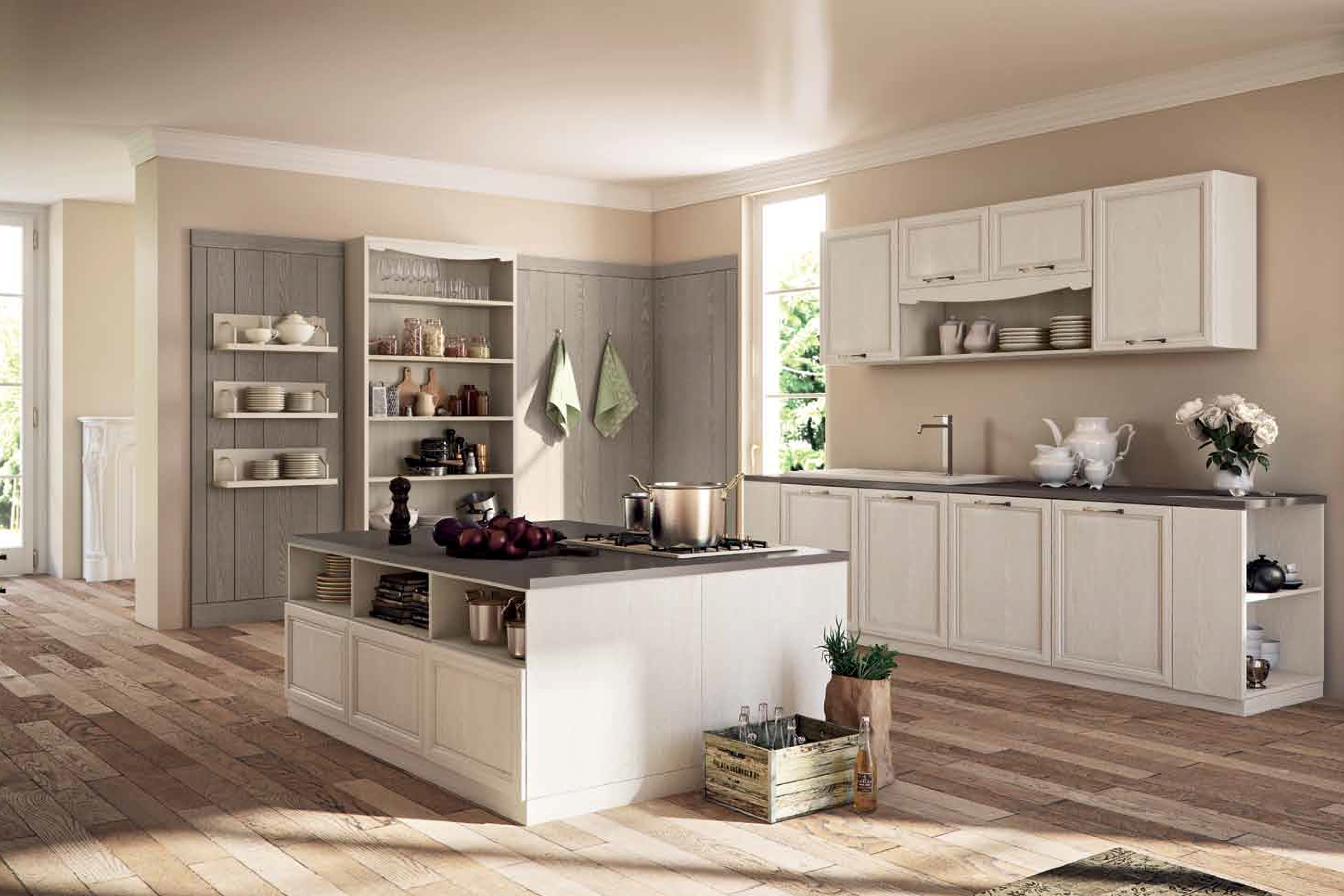 Stile country provenzale e shabby chic 4a arreda - Cucine stile country provenzale ...