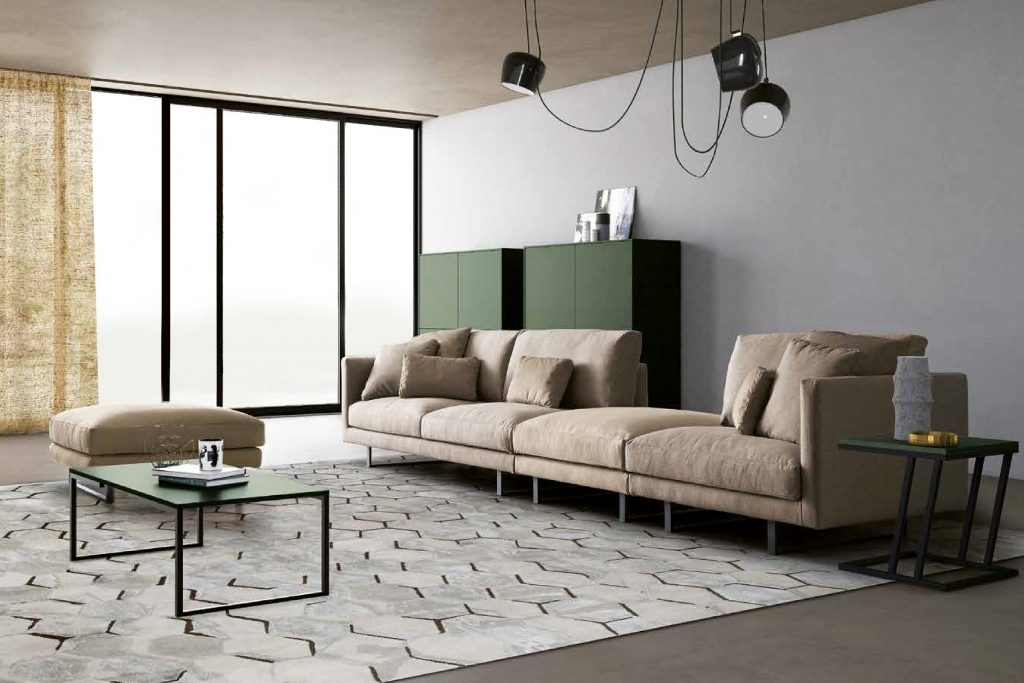 salotto divano living room zona giorno soggiorno architetto ...
